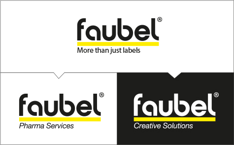 Faubel, pharmaceutical labels, creative labels, business areas, printing industry
