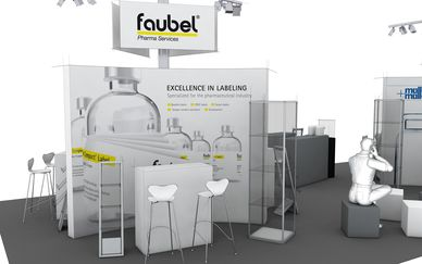 Faubel Pharma Services, CPhI, Messestand 11.1 G10