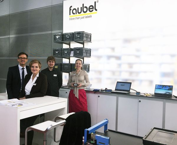 Faubel Messestand, Logimat 2019
