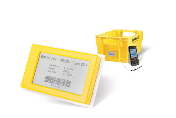 E-Paper-Display, RFID-Technologie
